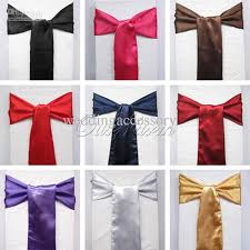 Cheap Chair Sashes Satin Chair Sashes 2013 New Christmas Craft Decoration Banquet