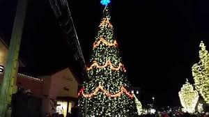christmas tree lighting at the shops at highland village 2015