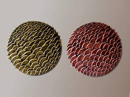 Copper Wall Decor by Set Of 2 Round Wall Sculptures Round Wall Decor 3d Wall