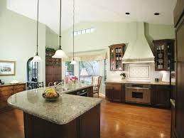 L Shaped Kitchen With Island Layout L Shaped Kitchen With Island Layout Built In Cooktop And Oven Dark