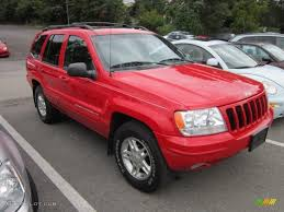 flame red jeep 1999 flame red jeep grand cherokee limited 4x4 54252116