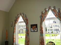 Half Moon Windows Decorating Drapes For Arched Windows Yardena Arch Window With Pleated