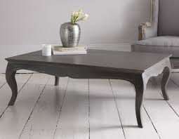 classic shape coffee table with cabriole legs in a storm grey