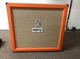 Orange Cabinet 4x12 Orange Ppc412hp 400w 4x12 Stereo Guitar Cabinet Celestion Reverb