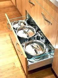 kitchen pan storage ideas pan storage ideas pots and pans drawer pot and pan drawer to