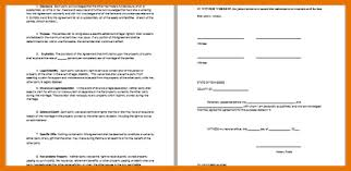 8 free prenuptial agreement itinerary template sample