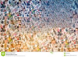 people mosaic background stock photo image 85648365