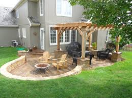 spring patios yards and patio fire pits exceptional yard ideas