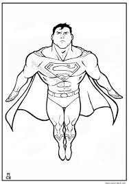 superman coloring pages archives magic color book