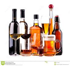 different alcoholic drinks royalty free stock image image 32797366