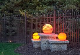 Mckay Landscape Lighting by Orbs Add Backyard Appeal Nightorbs Nightorbs