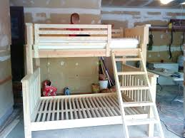 Low Loft Bunk Beds Free Woodworking Plans To Build A Twin Low Loft Bunk Bed The