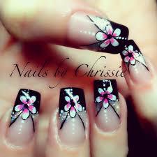 hand painted gel nails by chrissie pearce x nails nailart nail