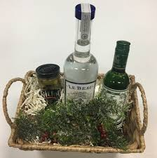 martini gift basket traditional vodka martini gift basket haskell s