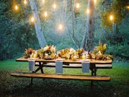 Garden Wedding Ideas by Simple Outdoor Wedding