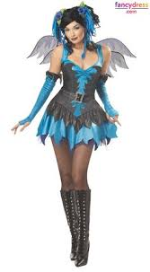Gothic Womens Halloween Costumes Deluxe Emerald Fairy Costume Fairy Costumes Disguises