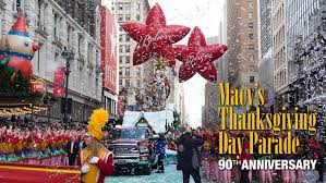 let s celebrate macy s thanksgiving day parade 90th birthday with