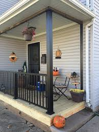 aluminum porch posts color guard railing