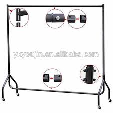 best portable clothes garment rack with wire shelving adjustable