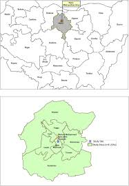 Nigeria State Map by A Map Of The Study Area Kano Metropolitan Area In Kano