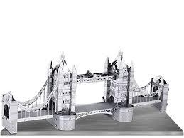 innovatoys metal earth london tower bridge 3d laser cut