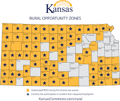 map of counties in kansas kansas department of commerce official website rural