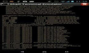 terminal emulator apk free shell terminal emulator android apk for android getjar