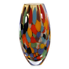 18 Contemporary And Elegant Vase Vases Art Glass Crystal Wood U0026 Blown Glass Vases Novica