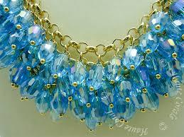 gold vintage statement necklace images Fleur crystal beads cascade statement necklace hautecorals jpg