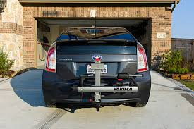 toyota prius bike rack bike rack prius v leased so probably not a hitch mpg mileage