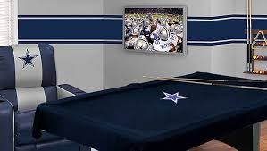 dallas cowboys pool table cloth colors putapon
