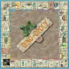 Monopoly Map Dino Opoly Board Game Walmart Com