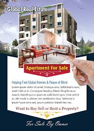 apartment for sale flyer template photoshop version free flyer