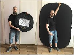 collapsible backdrop tips for setting up your home portrait photography studio