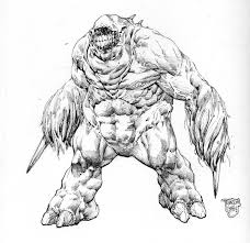 monster concept sketch by ransomgetty on deviantart