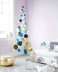 metallic foil paillette tree mobile martha stewart
