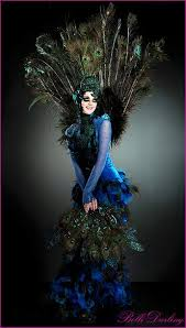 Peacock Costume Halloween 329 Paon Pavone Peacock Costume Images