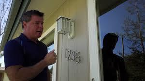 kuna security porch light vs ring video door bell youtube