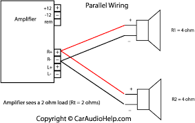 wiring diagram for car amp and speakers wiring diagram and