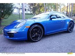 Porsche 911 Blue - 2015 porsche 911 carrera 4 coupe in sapphire blue metallic