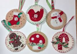 272 best felt tree ornaments images on