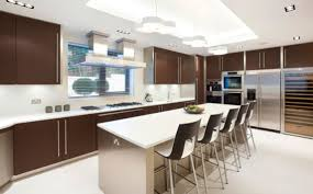 modern kitchen chairs table and chairs in modern kitchen interior design