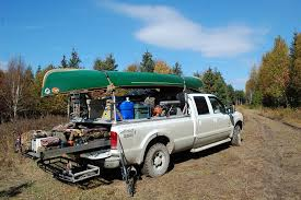 ford hunting truck cing and hunting gear loaded on a tonneau cover of a fo flickr