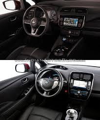 2018 nissan leaf vs 2014 nissan leaf interior indian autos blog