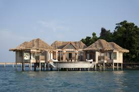 top 10 overwater bungalows whether perched above luxury