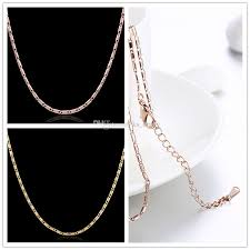 pendant necklace lengths images 2018 white rose gold flat square link chain necklace length 18 jpg