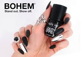 nails inc leather effect polish nail jewellery