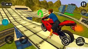 kids motorbike stunt rider 3d new moto unlocked android gameplay