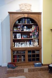 wall unit custom arched fluting capital kitchen refacing