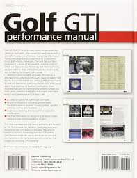 golf gti performance manual haynes performance manual amazon co